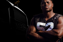 Mack, Meet Mack: NFL's Khalil Mack Builds Excitement for New Truck