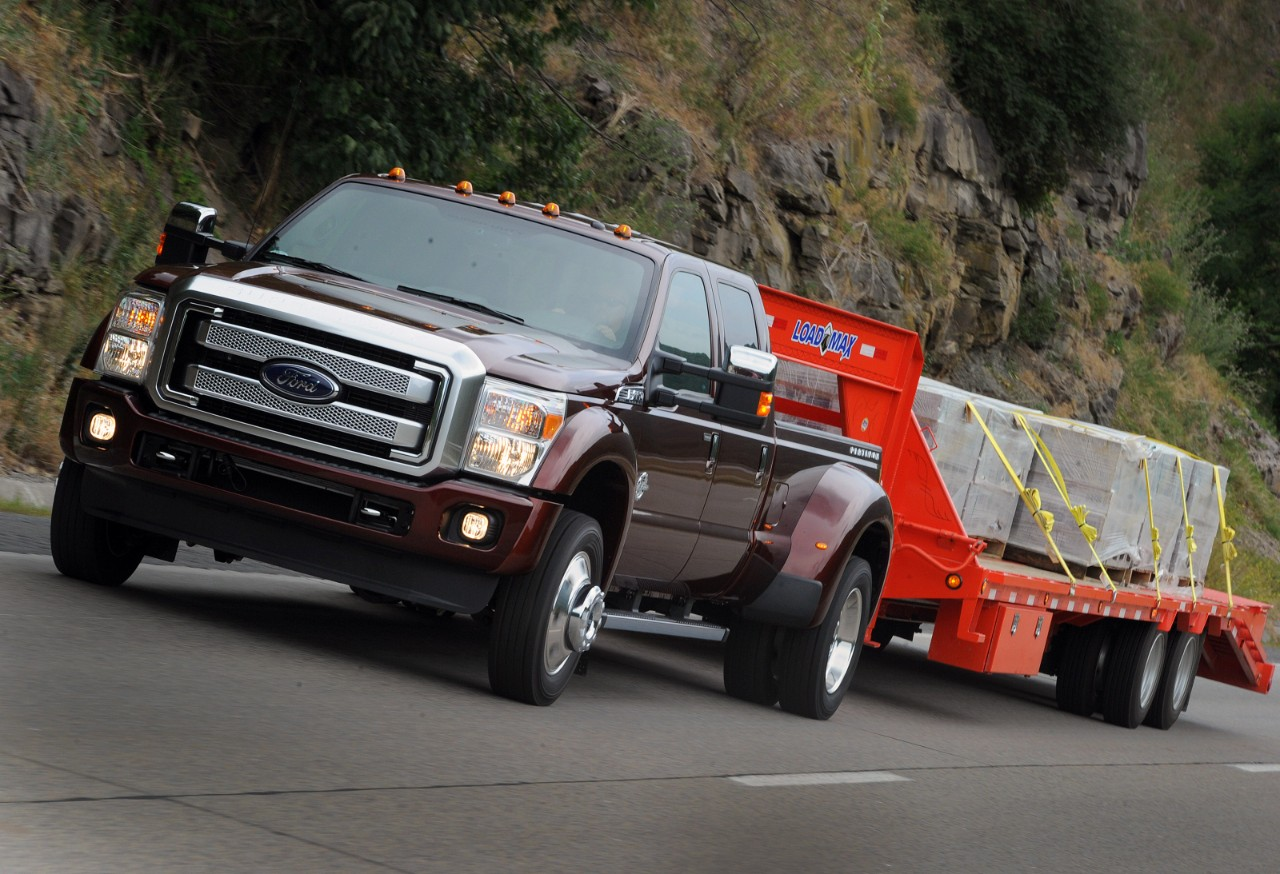 2012 ford f250 towing capacity