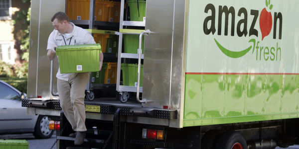 A move into the P&D business by Amazon would hurt other delivery fleets. But the real impact on...