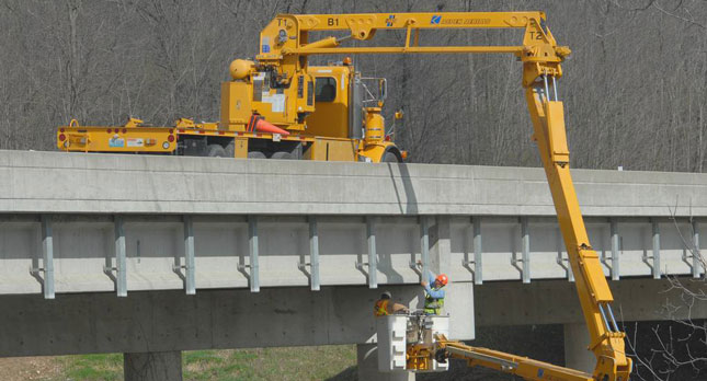 The Missouri DOT does a bridge inspection. Many of the nation's bridges are deemed functionally or structurally deficient.