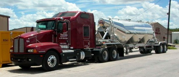 A D&T Trucking rig