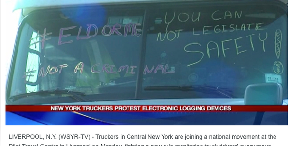 Two top trends -- ELDs and the driver shortage -- collided with driver protests in early...