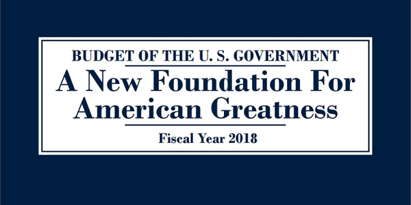 President Trump's 2018 Budget Photo: White House Office of Management and Budget