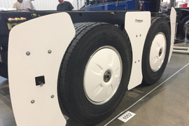 FlowBelow Shows Aero Device for Trailer Wheels