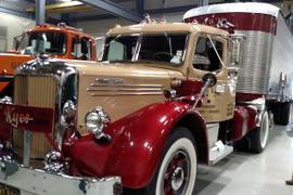 Mack Museum Displays Fancy Fruehauf Van