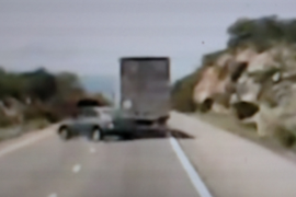 Tailgating Driver Not a Complete Idiot