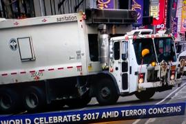 Trucks Block Possible Terrorism in D.C., New York City