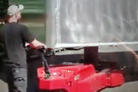 Quick Feet Help in Parking Trailers with this Machine