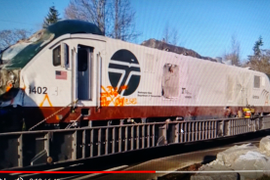Heavy Hauls Follow Tragic Train Wreck Near Tacoma