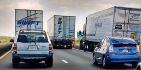 Risky Maneuver Breaks a Two-Rig Blockade