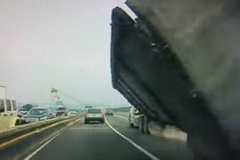 Unlucky Tip Over on the Tappan Zee Bridge