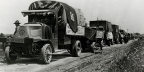 Motor Trucks in the Wild West