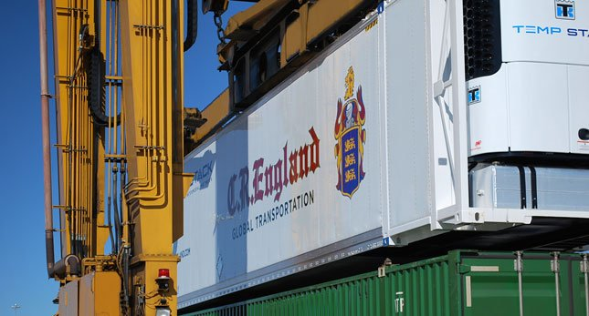C.R. England is building a fleet of 53-foot-long refrigerated containers that will total 300 by early 2011