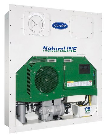 First NaturaLine units will be for use in temperature-controlled sea containers. Later, the CO2 concept might be used in trailer reefers.