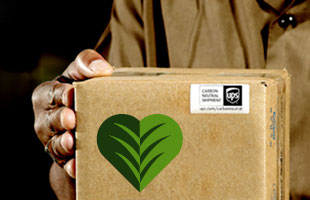 UPS is one company that touts carbon-neutral shipping. Should you?