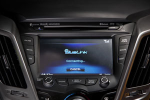 Hyundai's Blue Link promises text-activated Internet access. Will similar technology make an appearance in trucks?