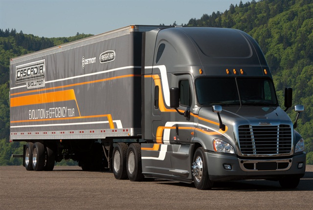 The Freightliner Cascadia Evolution uses small component and part changes to add up to fuel economy gains.