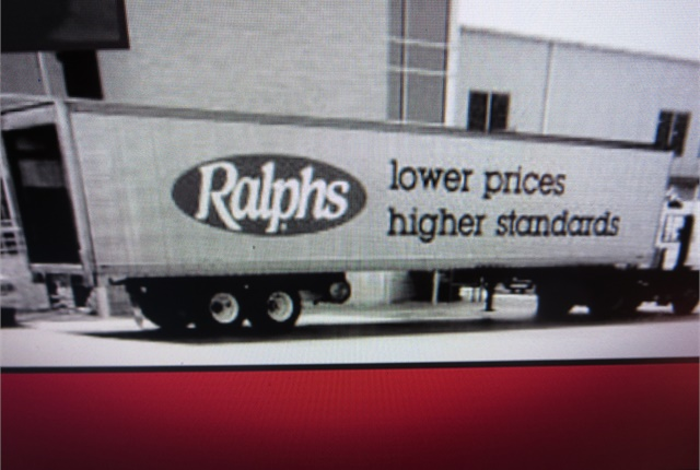 For many years, Ralphs rigs have carried all manner of foodstuffs to the chain's stores throughout southern California. It's now owned by Kroger. Image: Ralphs Grocery Co.
