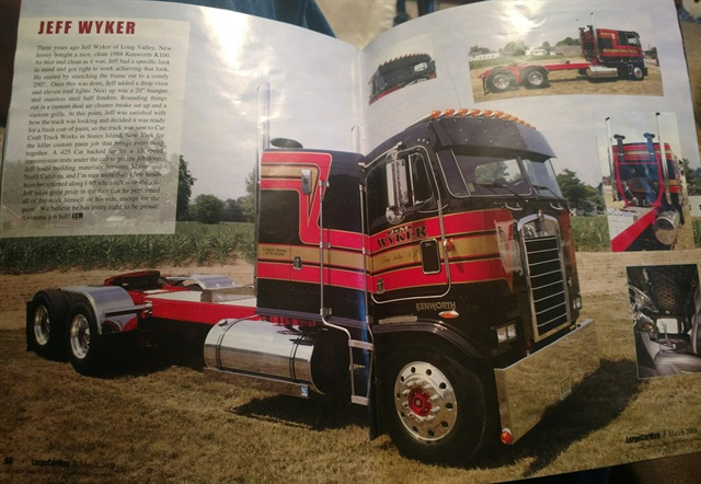 One small fleet just bought this 1988 Kenworth cabover, once featured as a trucking mag centerfold, because it is exempt from the ELD mandate.