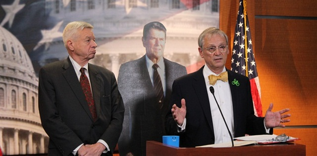 Last month, two Representatives issued a bipartisan call for a bill to raise the fuel tax.