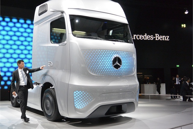 Newcomers to trucking are looking at established business models and probing for weaknesses with fresh eyes -- and ideas. Photo: Daimler Trucks