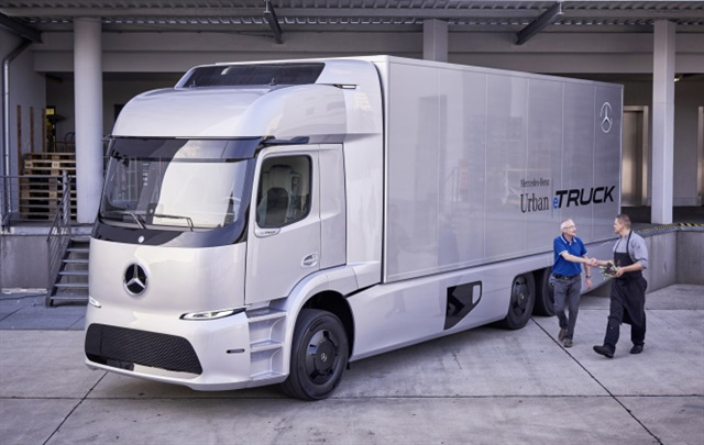 Mercedes-Benz is supplying select European customers with 20 pre-production electric eTrucks to run in real-world fleet conditions. Photo: Mercedes-Benz