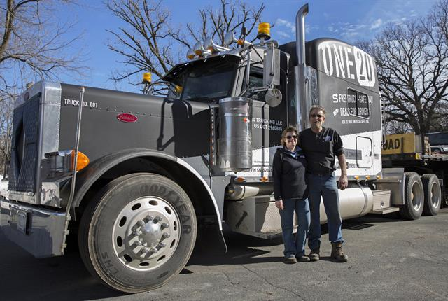 One20 has started its own trucking company to get a better feel for the challenges facing small fleets. Photo: One20
