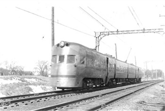 After the Chicago North Shore & Milwaukee Railroad shut down in 1963, its abandoned right-of-way was considered as a haul route for tractor-trailers. The idea didn't fly. Image: Milwaukee Electric Railway