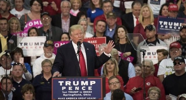 President-elect Trump speaking during the election campaign.Image: DonaldJTrump.com