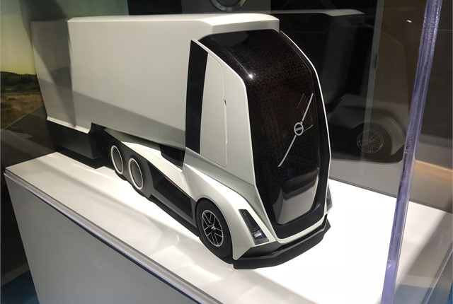 A Glimpse Of Volvo S Work On Future Transportation Technology Is In This Model An