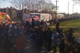 Truckers Among Volunteers for Wreaths Across America