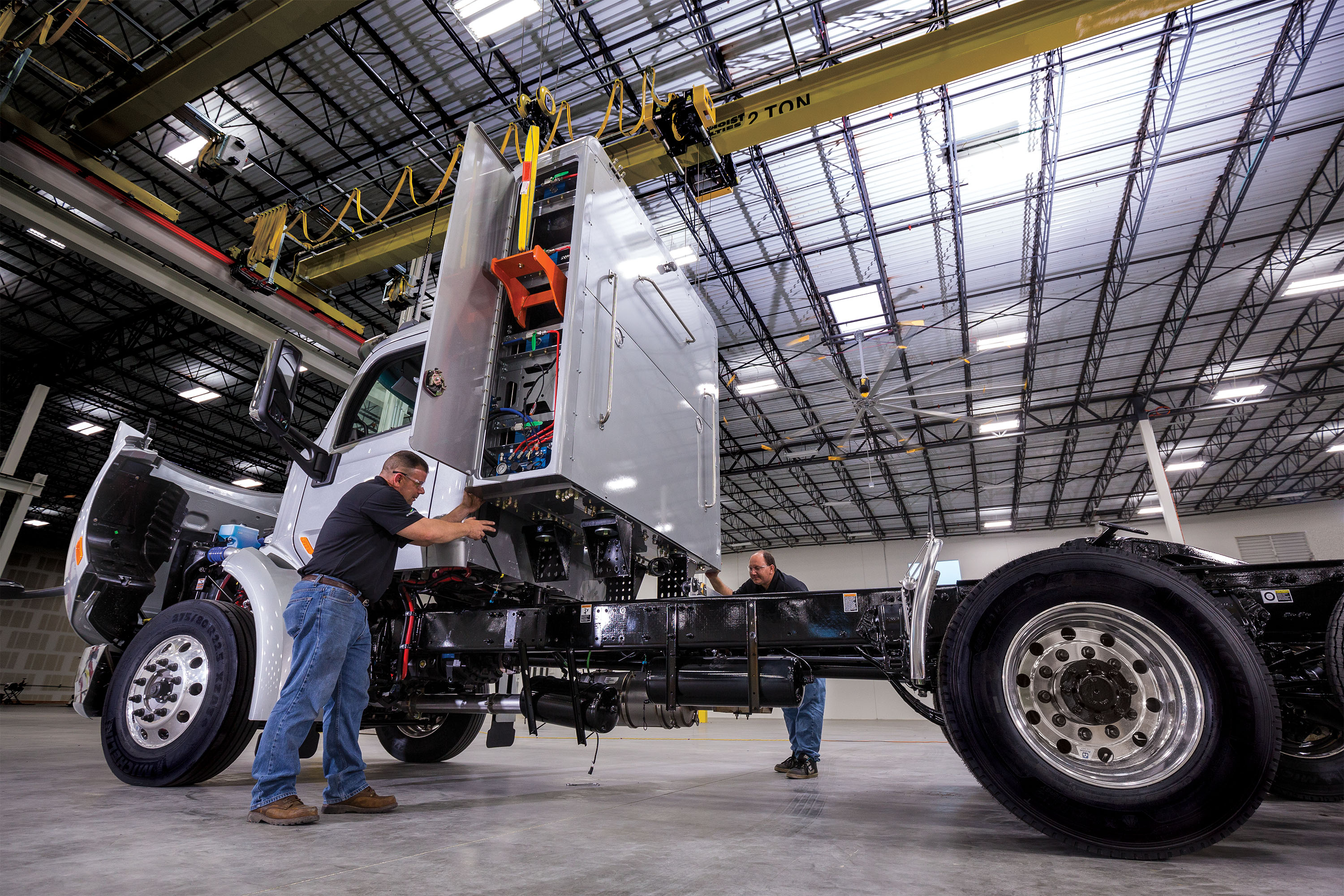 Rush Introduces Class 6-8 CNG Fuel System