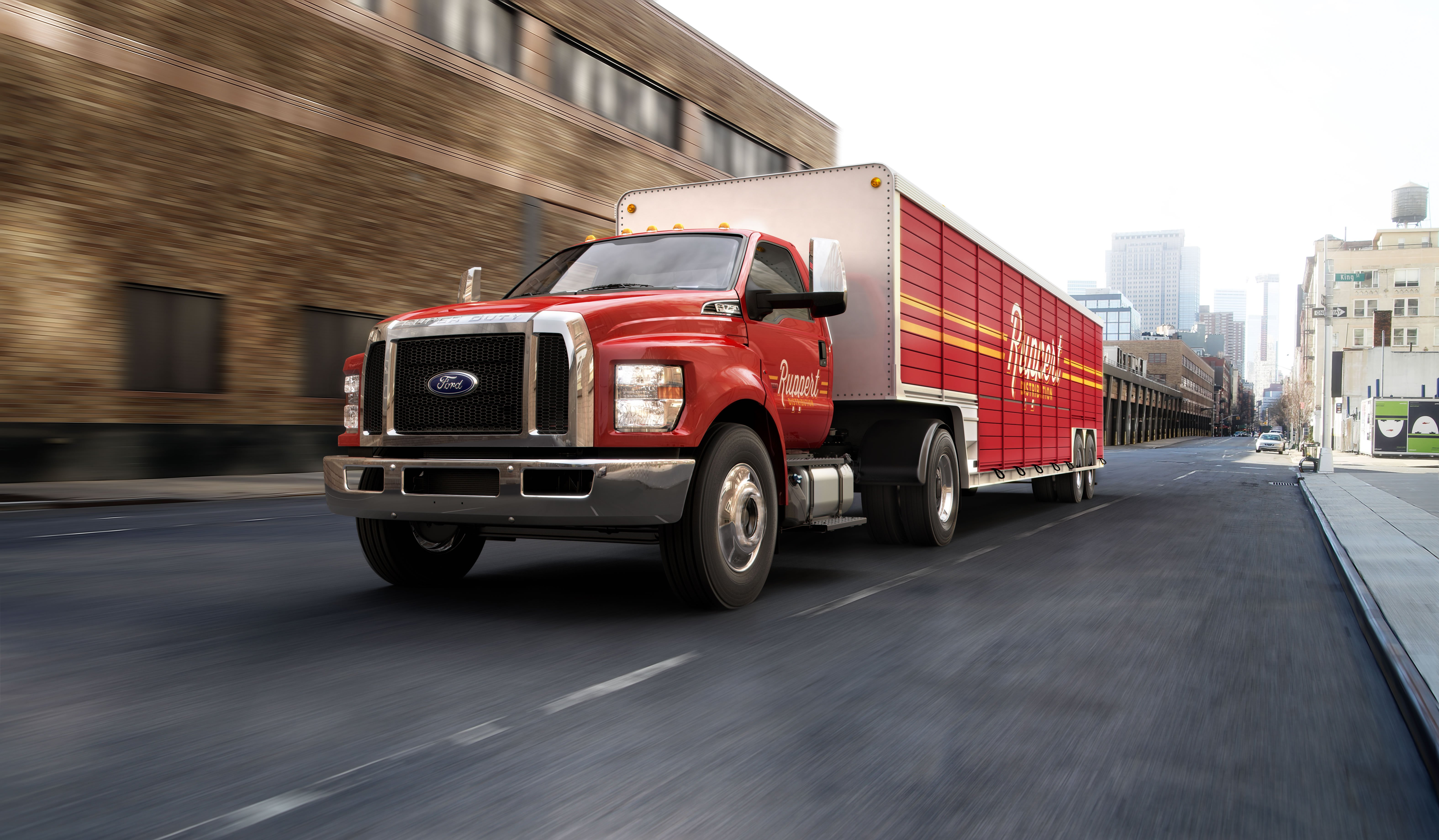 2016-Model F-650/750 to Get Fresh Styling, More Ford Components