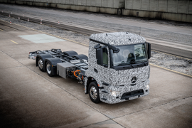 M-B Class 8 Electric Truck to be Tested in Urban Delivery Service
