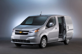 Chevy Unveils City Express Van, Expands Silverado HD Bi-Fuel Offerings