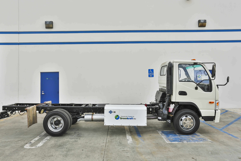 Greenkraft Offers Propane Autogas Class 4-5 Trucks