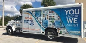 Propane Autogas Fuels ReadyRefresh Delivery Trucks