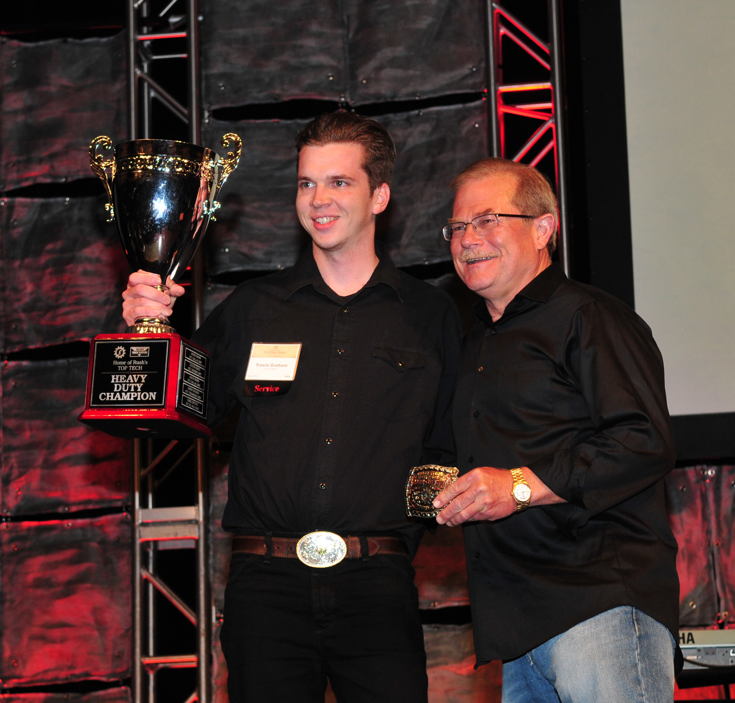 First-timer Travis Graham Cleans Up at Rush Tech Skills Rodeo