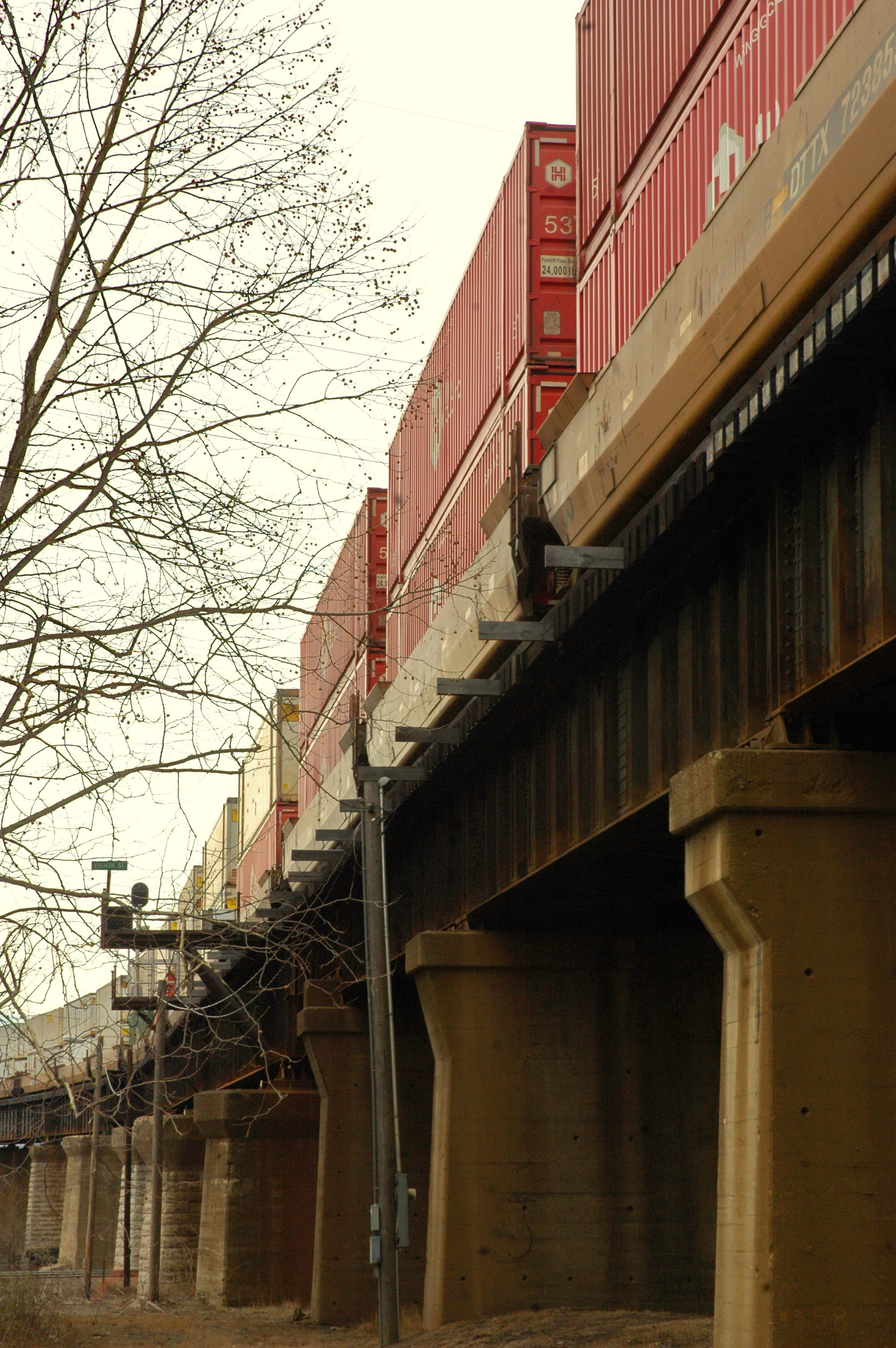 Intermodal Rail Traffic Posts More Than 5 Percent Yearly Increase