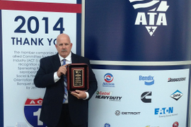 ATA Names 2014 Driver of the Year