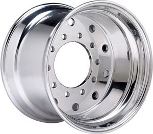 Accuride has not only increased its capacity to make aluminum wheels, but also wide-base aluminum wheels.