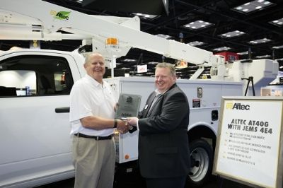 Altec Wins Work Truck Show Green Award