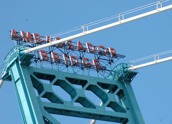 The owner of the Ambassador Bridge has spent a lot of money fighting the second bridge.