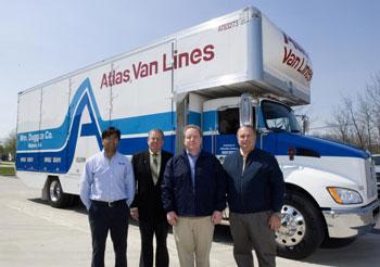 Atlas Van Lines Unveils Hybrid Moving Truck