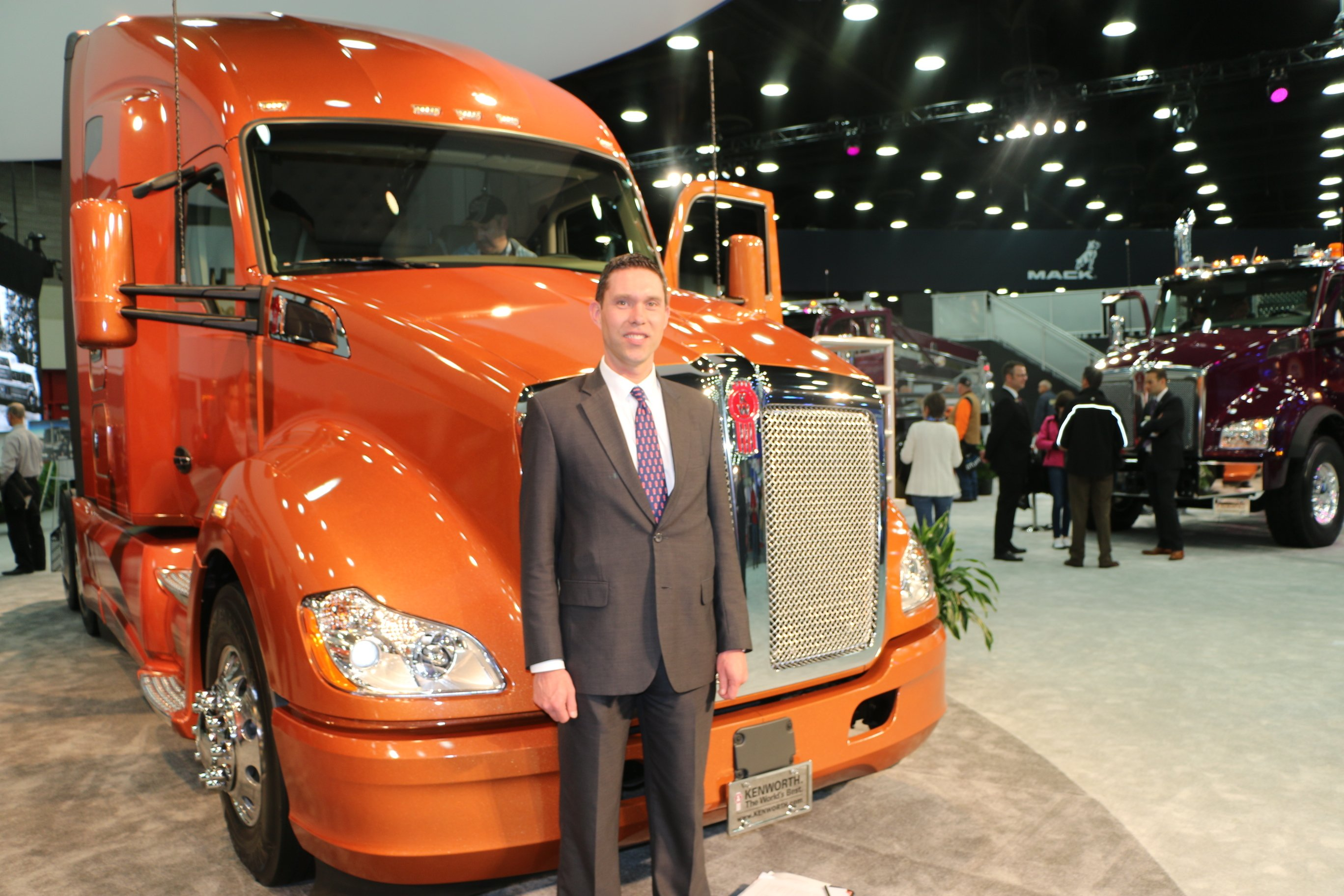 New Paint Color Developed for Kenworth Trucks