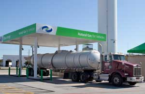 Expanding the number of natural gas vehicles on the roads could provide a number of benefits, including cheaper fuel prices, fewer emissions and domestic production, and some trucks and buses are already on board.