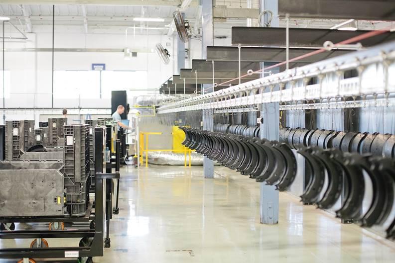 Bendix Upgrades Brake Shoe Reman Facility