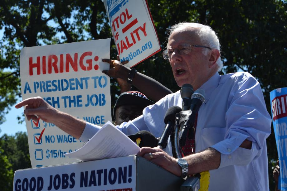 Sanders Wants Crackdown on Companies That Don't Pay Drivers Living Wage