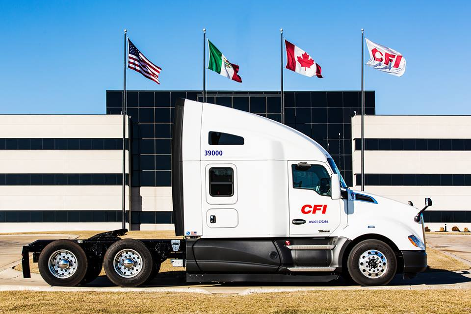 CFI Appeals to Drivers With Better Pay and Tech