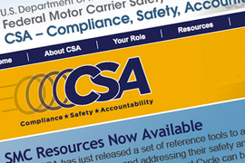 FMCSA Plans Upgrades to CSA Safety Data Website